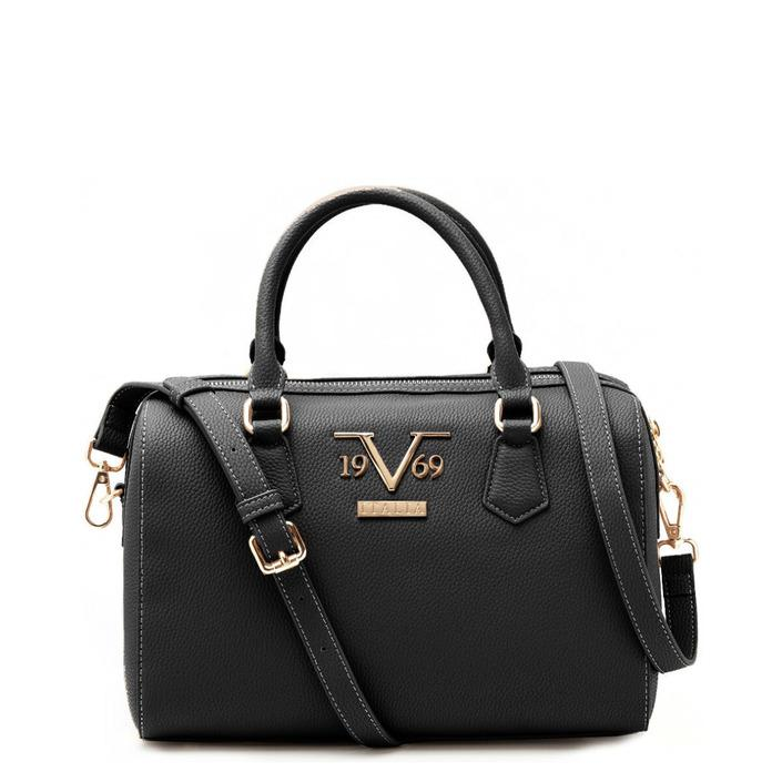 19v69 Italia Women's Handbag Various Colours 319009 - black UNICA