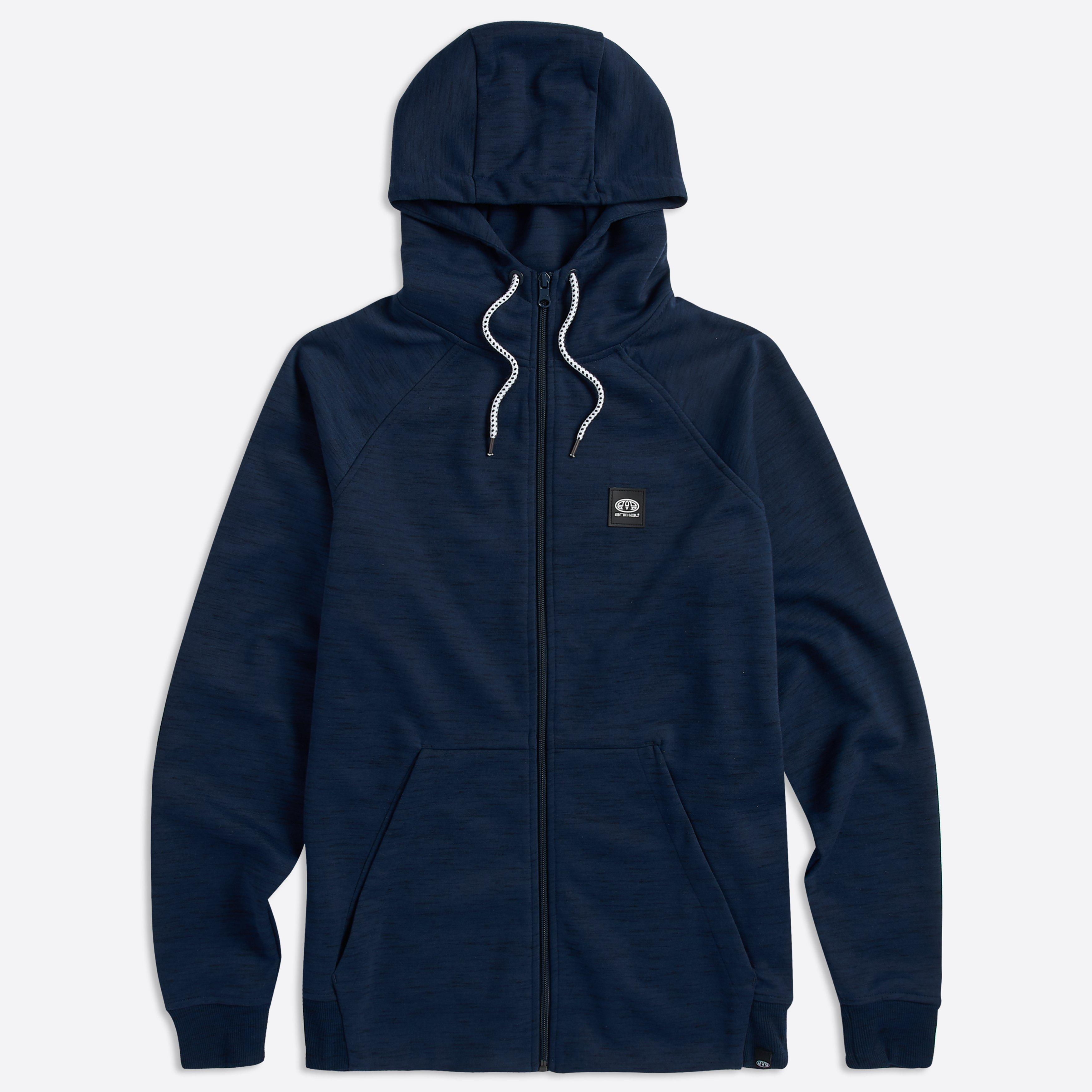 Animal Clothing Men's Venture Zip Jacket Various Colours 5057652285496 - S Navy