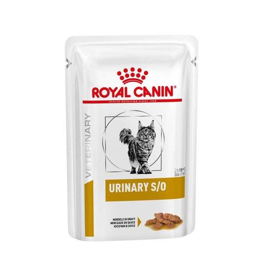 Royal Canin Veterinary Diets Cat Urinary S/O Chunks in Gravy 12x85 g