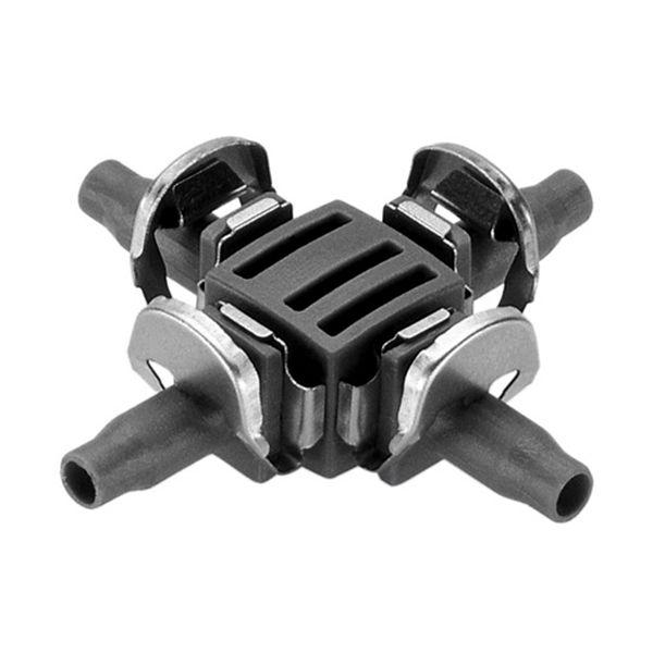 Gardena Micro-Drip-System Krysskobling 4,6 mm, 10-pakning