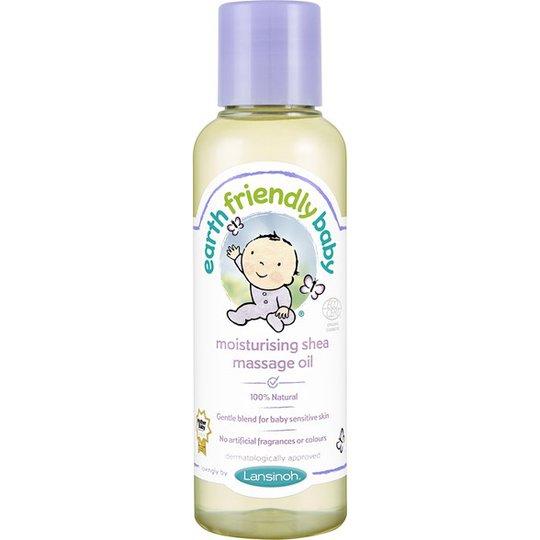 Earth Friendly Baby Moisturising Shea Massage Oil, 125 ml