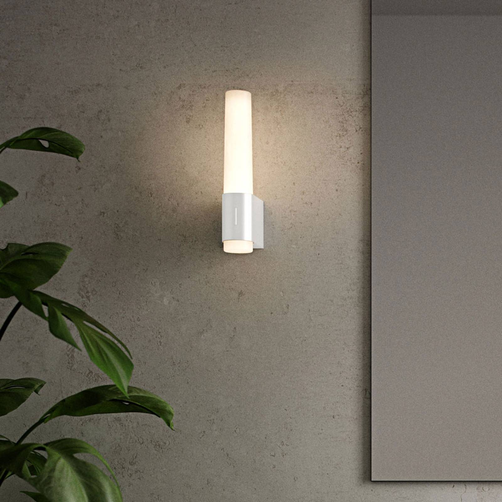 Kylpyhuoneen LED-seinälamppu Helva Night valkoinen