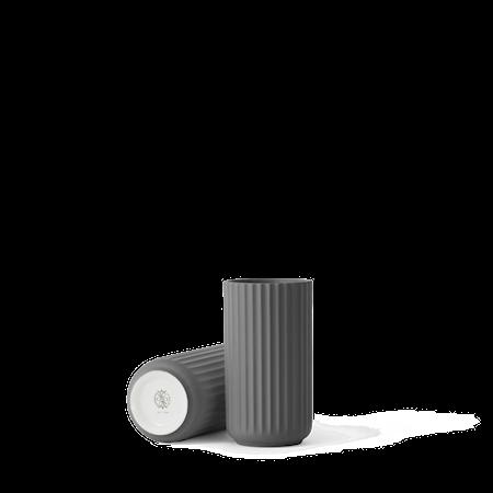 Vase Porselen Mørkegrå 15cm