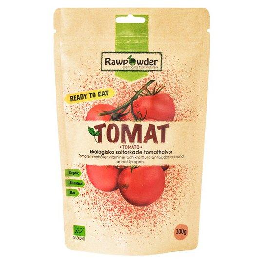 Rawpowder Ekologiska Tomathalvor Soltorkade, 200 g
