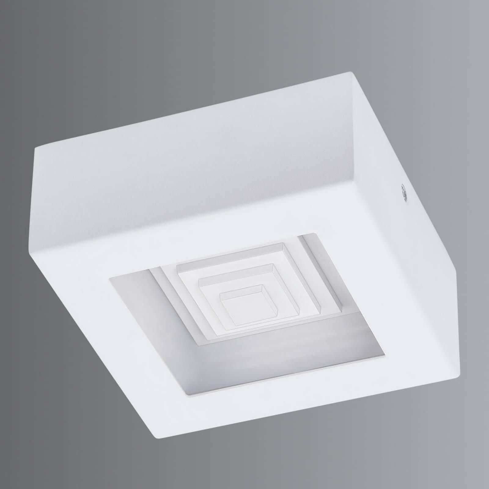 Pieni, valkoinen LED-kattovalaisin Ferreros