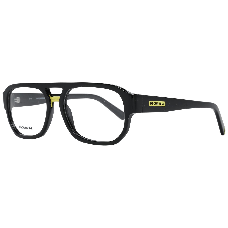Dsquared² Men's Optical Frames Eyewear Black DQ5296 5701A