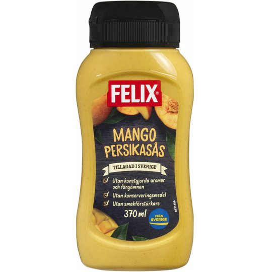 Mango- & Persikasås - 37% rabatt