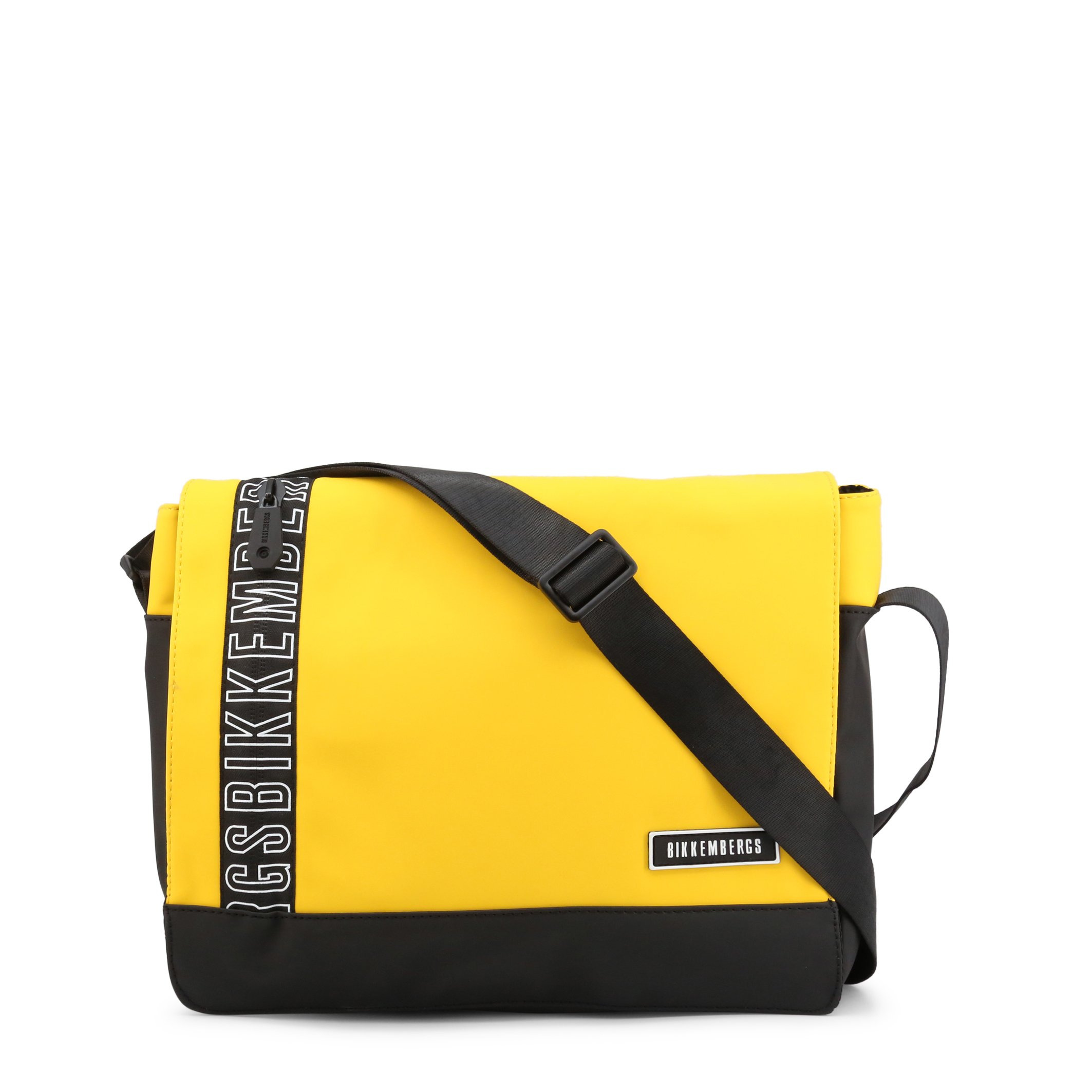 Bikkembergs Men's Briefcase Various Colours E2APME170052 - yellow NOSIZE