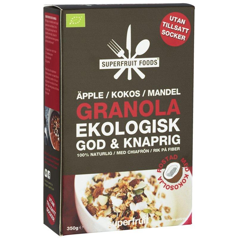 Eko Granola Äpple, Kokos & Mandel 350g - 41% rabatt