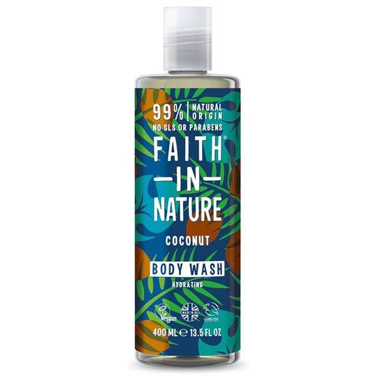 Faith in Nature Coconut Body Wash, 400 ml