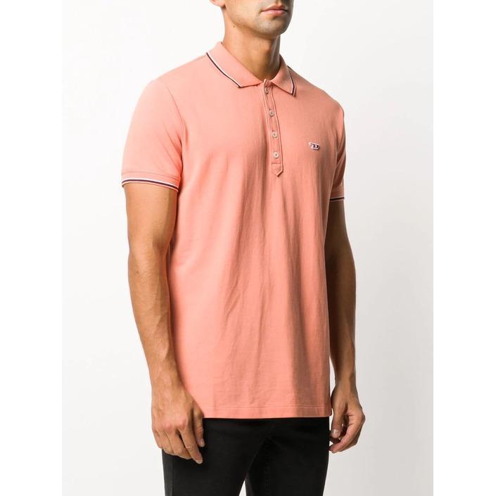 Diesel Men's Polo Shirt Orange 283877 - orange L