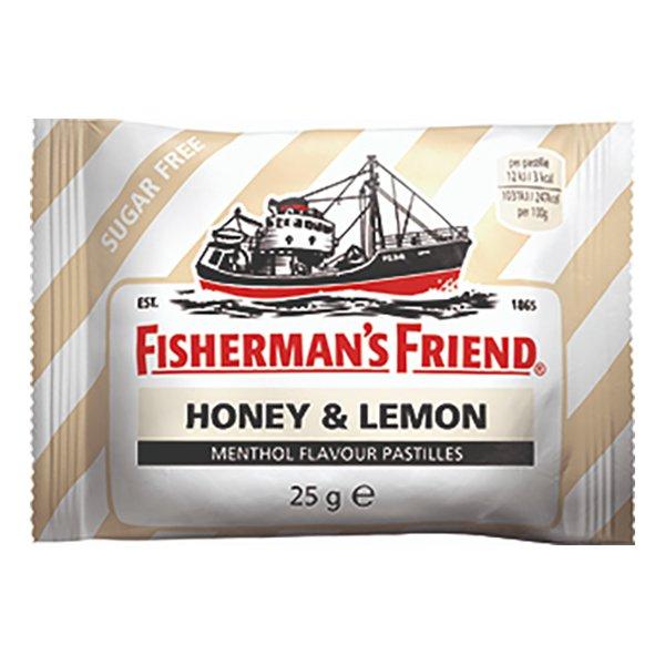 Fishermans Friend Sockerfri Honey-Lemon