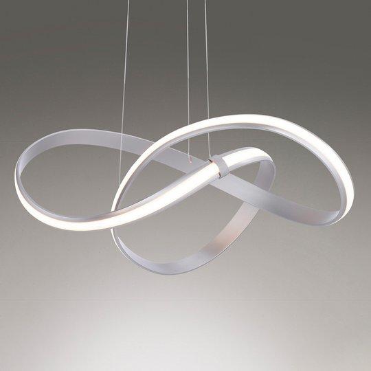 LED-riippuvalo Melinda 30W, himmennettävä, harmaa