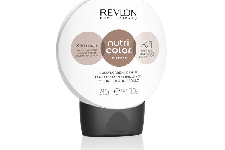 Revlon - Nutri Color Filters Toning 240 ml - 821 Silver Beige