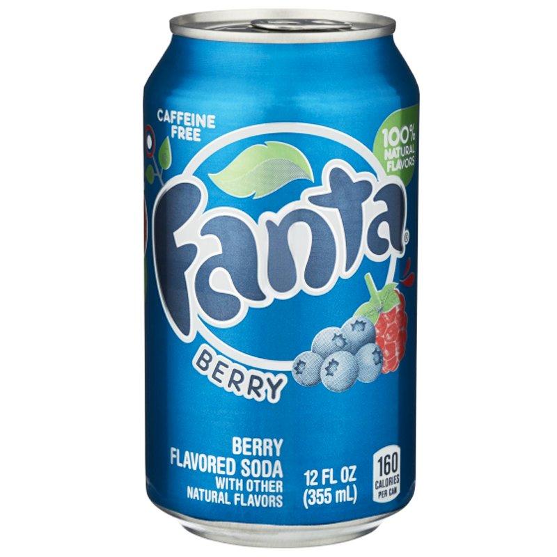"Fanta ""Berry"" 355ml - 41% rabatt"