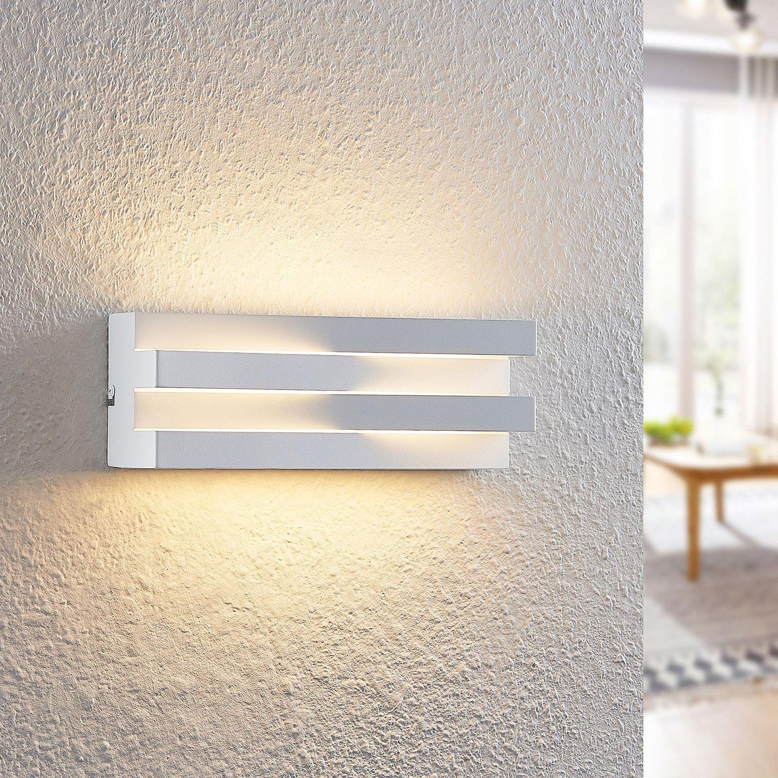Arcchio Keanu LED-vegglampe i hvit