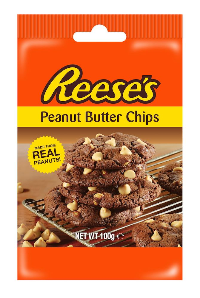 Reeses Peanut Butter Baking Chips 100g