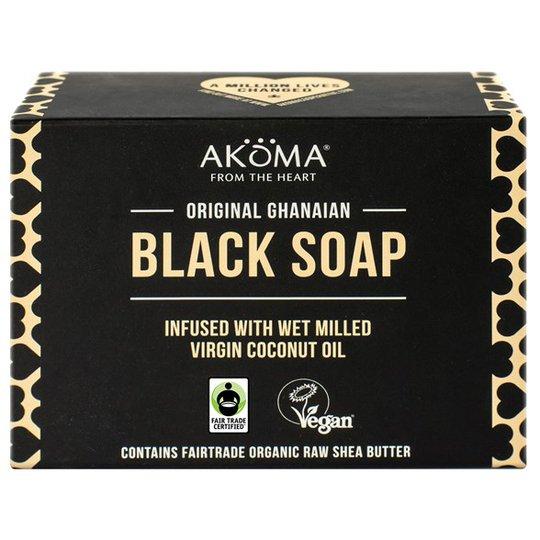Akoma Original Ghanaian Black Soap, 145 g