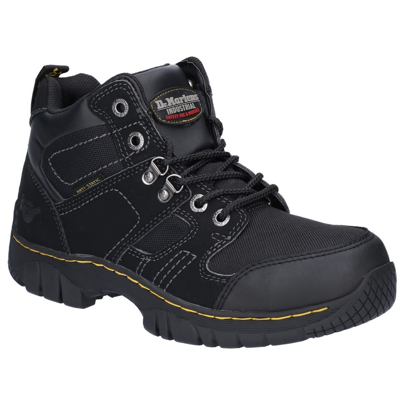 Dr Martens Unisex Benham Safety Boots Black 21647-34773 - Black 6