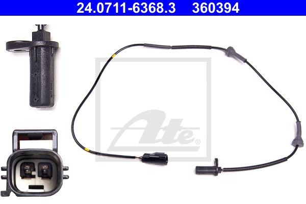 ABS-anturi ATE 24.0711-6368.3