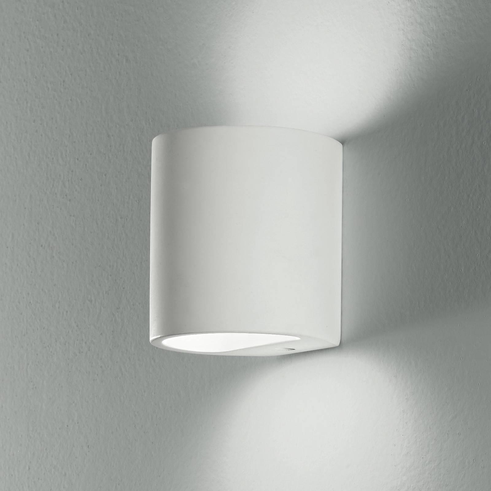 Seinävalaisin Shine up&downlight, valkoinen