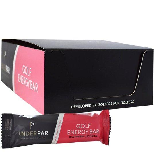 "Hel Låda Proteinbar ""Golf, Raspberry & Licorice"" 20 x 60g - 63% rabatt"