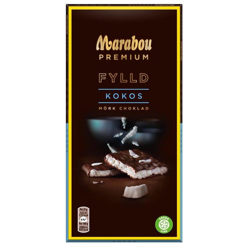 Mörk Choklad Kokosnöt - 41% rabatt
