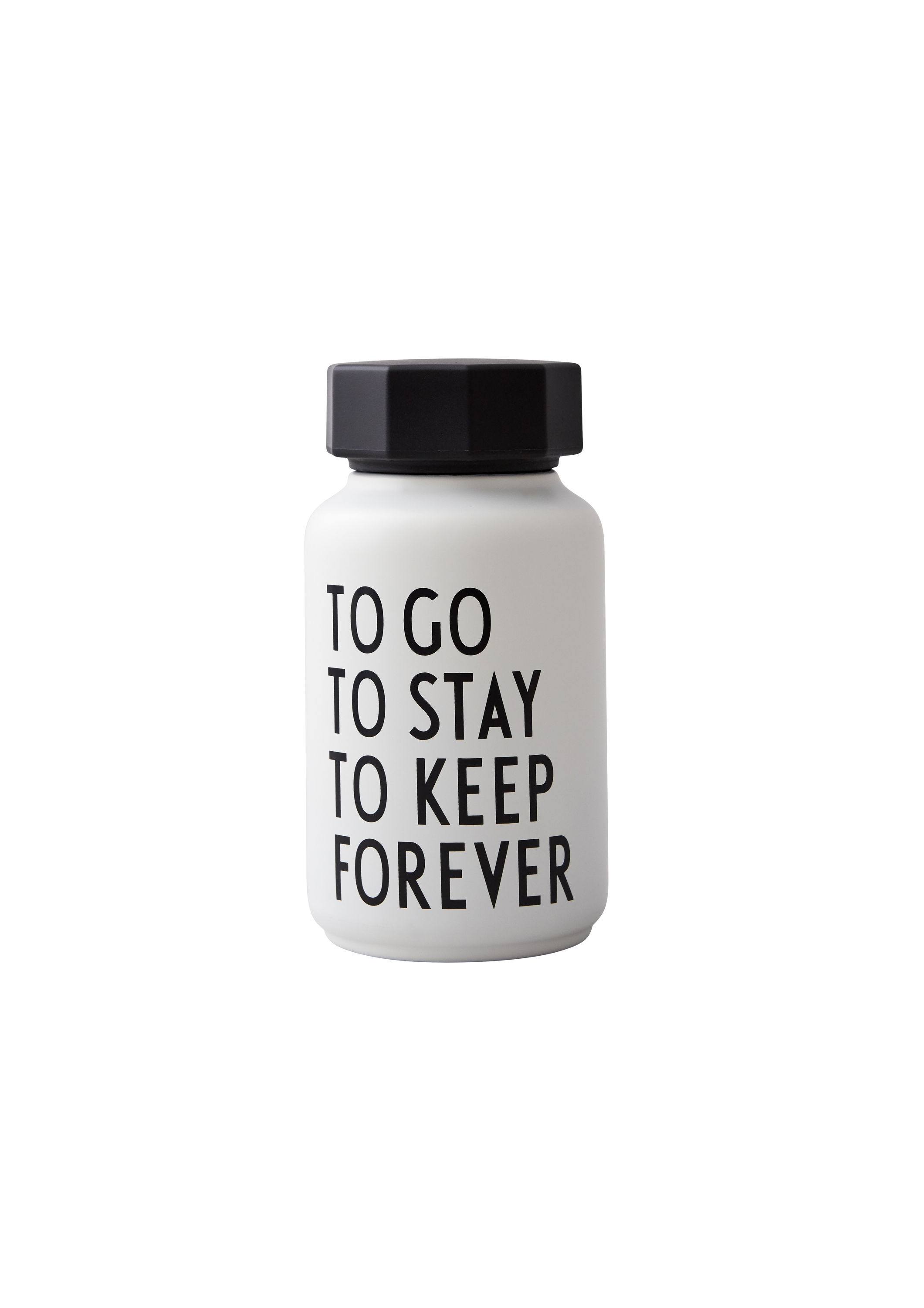 Design Letters - Thermo/Insulated Bottle Small Special Etd - White (30101007WHTOTOTOFO)