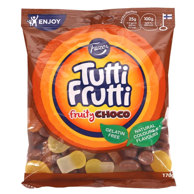 Tutti Frutti Fruity Choco Makeispussi - 23% alennus