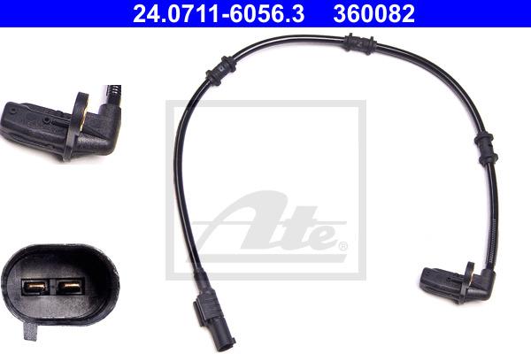 ABS-anturi ATE 24.0711-6056.3