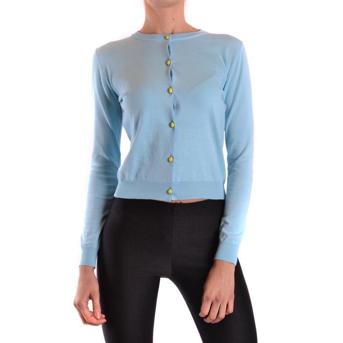 Boutique Moschino Women's Cardigan Blue 187300 - blue 40