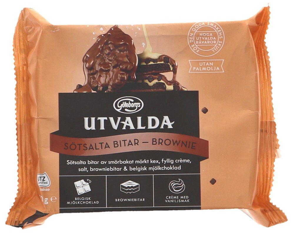 Sötsalta Bitar Brownie - 66% rabatt