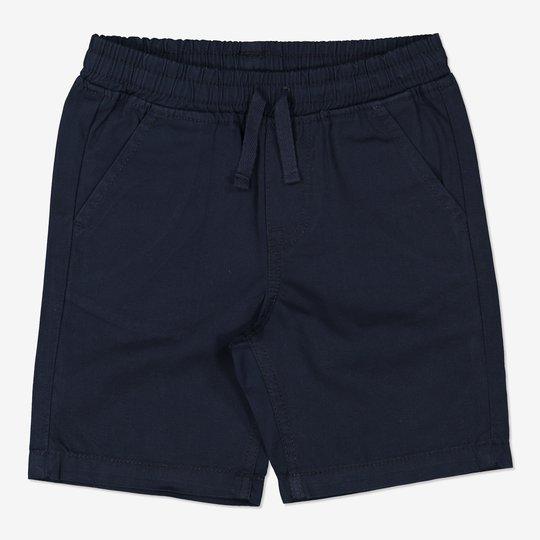 Vevde shorts mørkblå