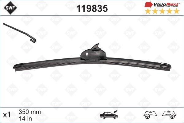 Flatblade 350 mm Visio Next