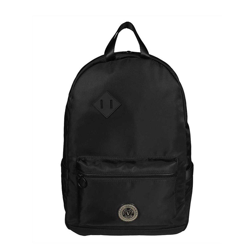 Versace Jeans Unisex Backpack Black E1YWAB10_71890 - black NOSIZE