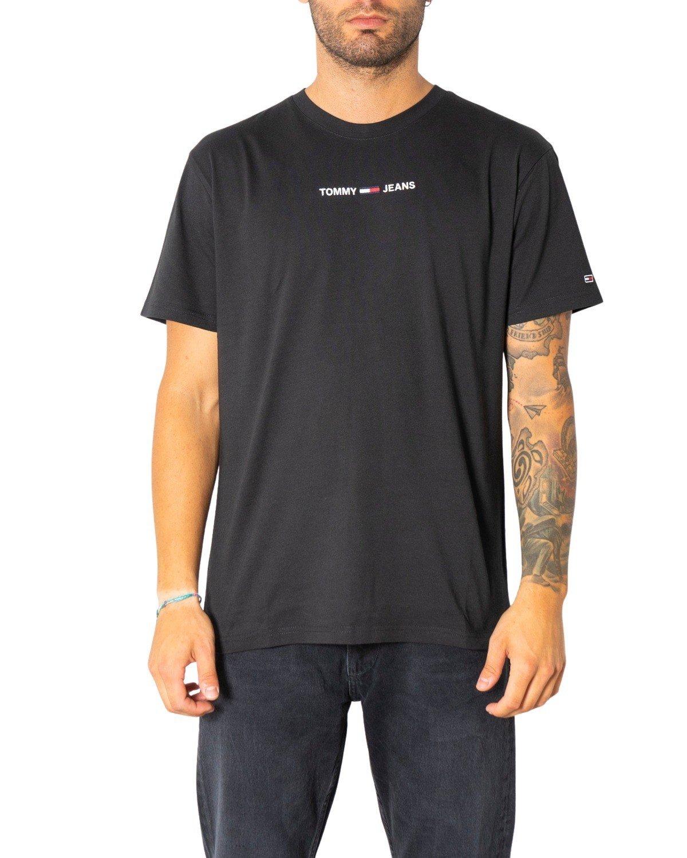 Tommy Hilfiger Jeans Men's T-Shirt Various Colours 299523 - black XS