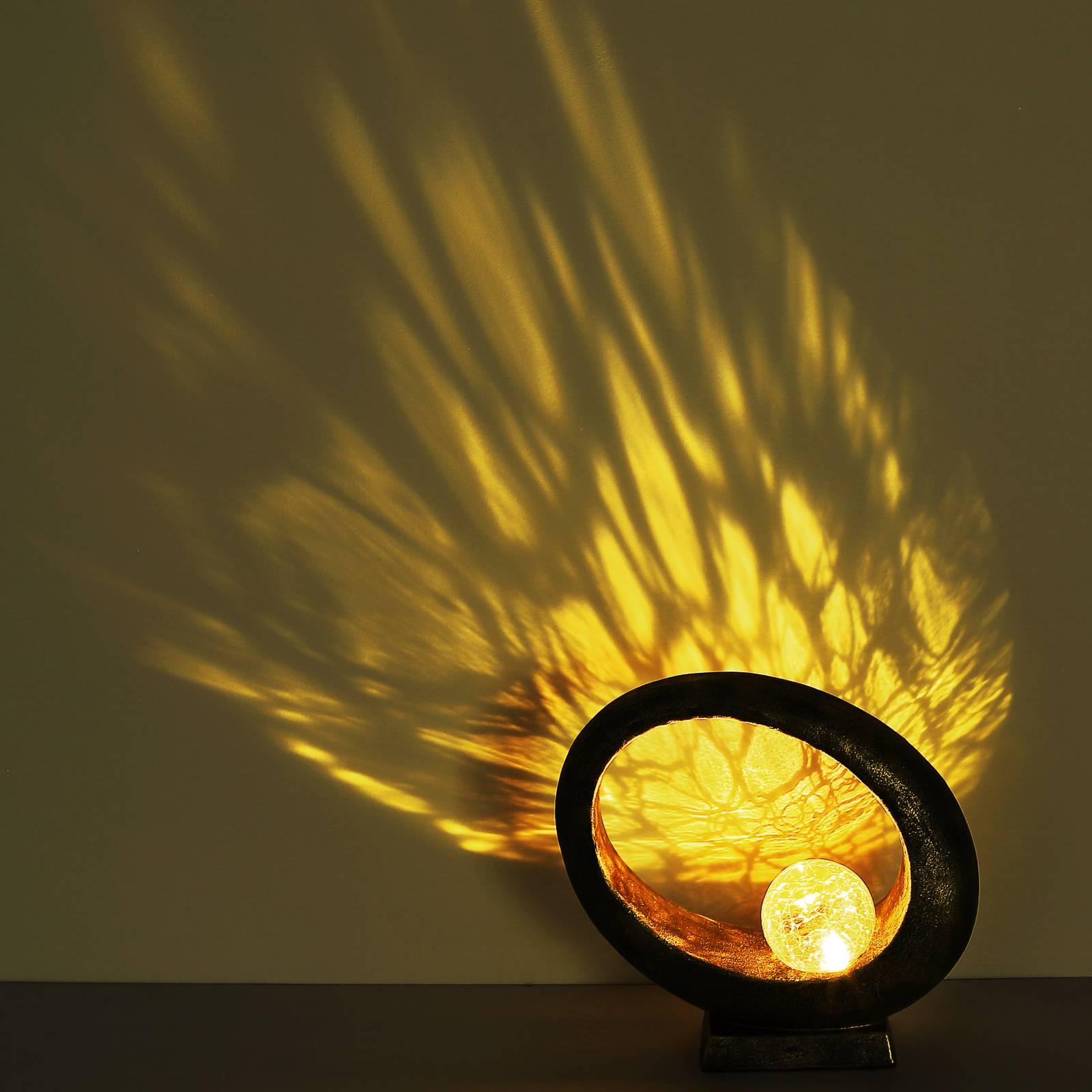 Aurinkokäyttöinen LED-koristevalo 36526, kulta