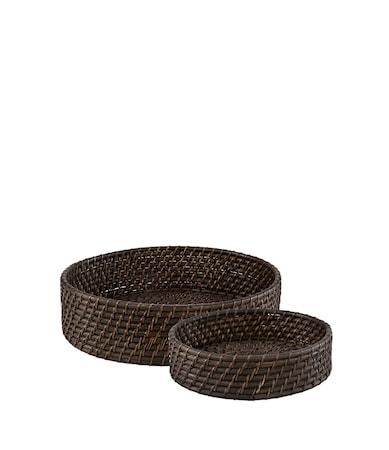 AMAZON breadbasket 2-set deep brown