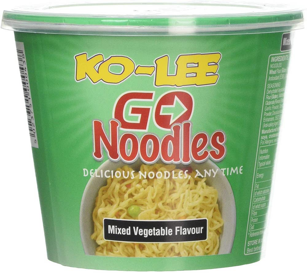 Ko-lee Cup Noodle Mixed Vegetable 65g