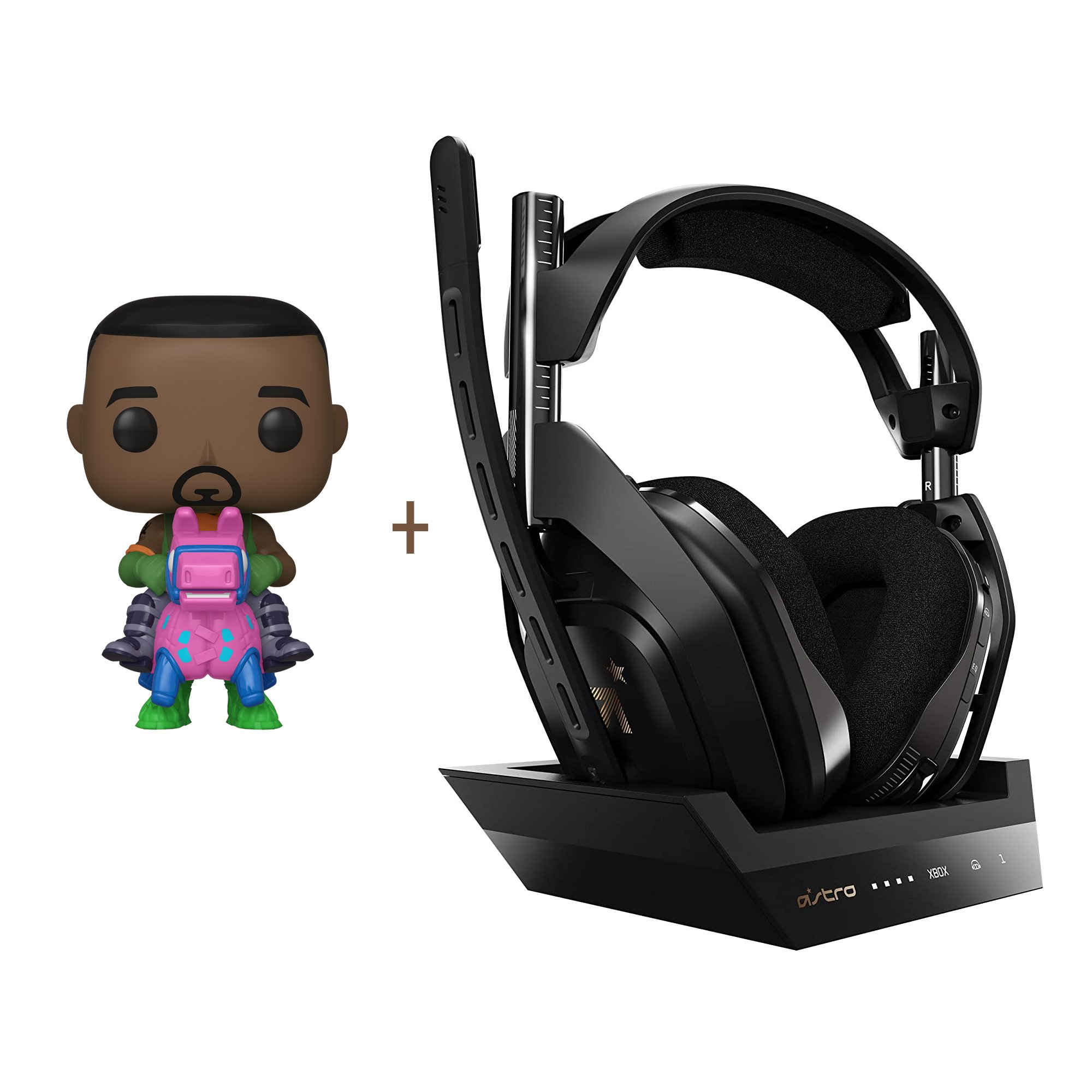 ASTRO A50 Wireless + Base Station for Xbox S,X/PC + Funko! POP - Games: Fortnite - Giddy Up (44732) - Bundle