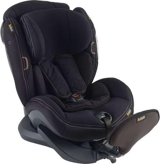 BeSafe iZi Plus X1 Bilstol, Premium Car Interior Black