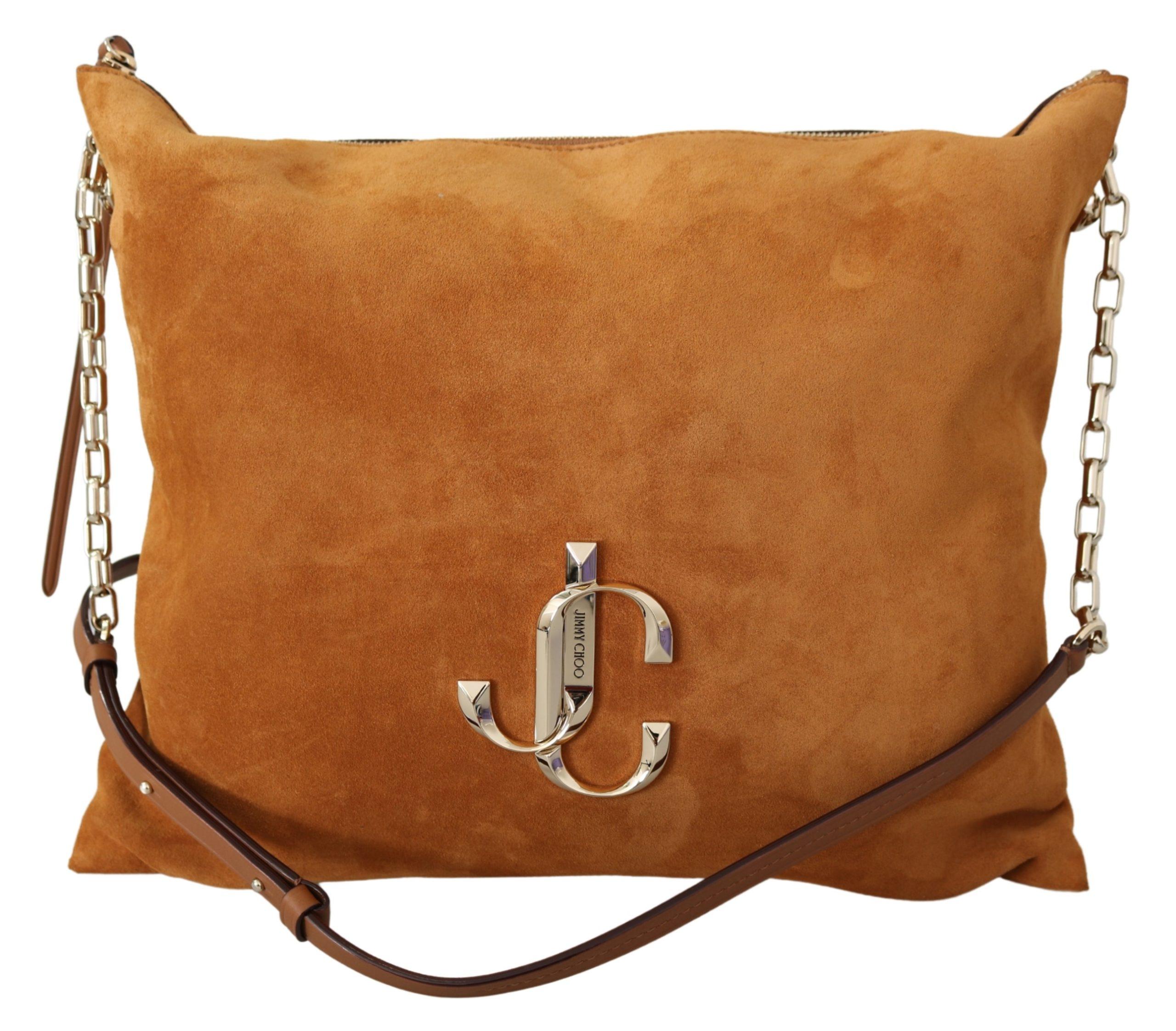 Jimmy Choo Women's Varenne Cuoio Shoulder Bag Brown 1436268