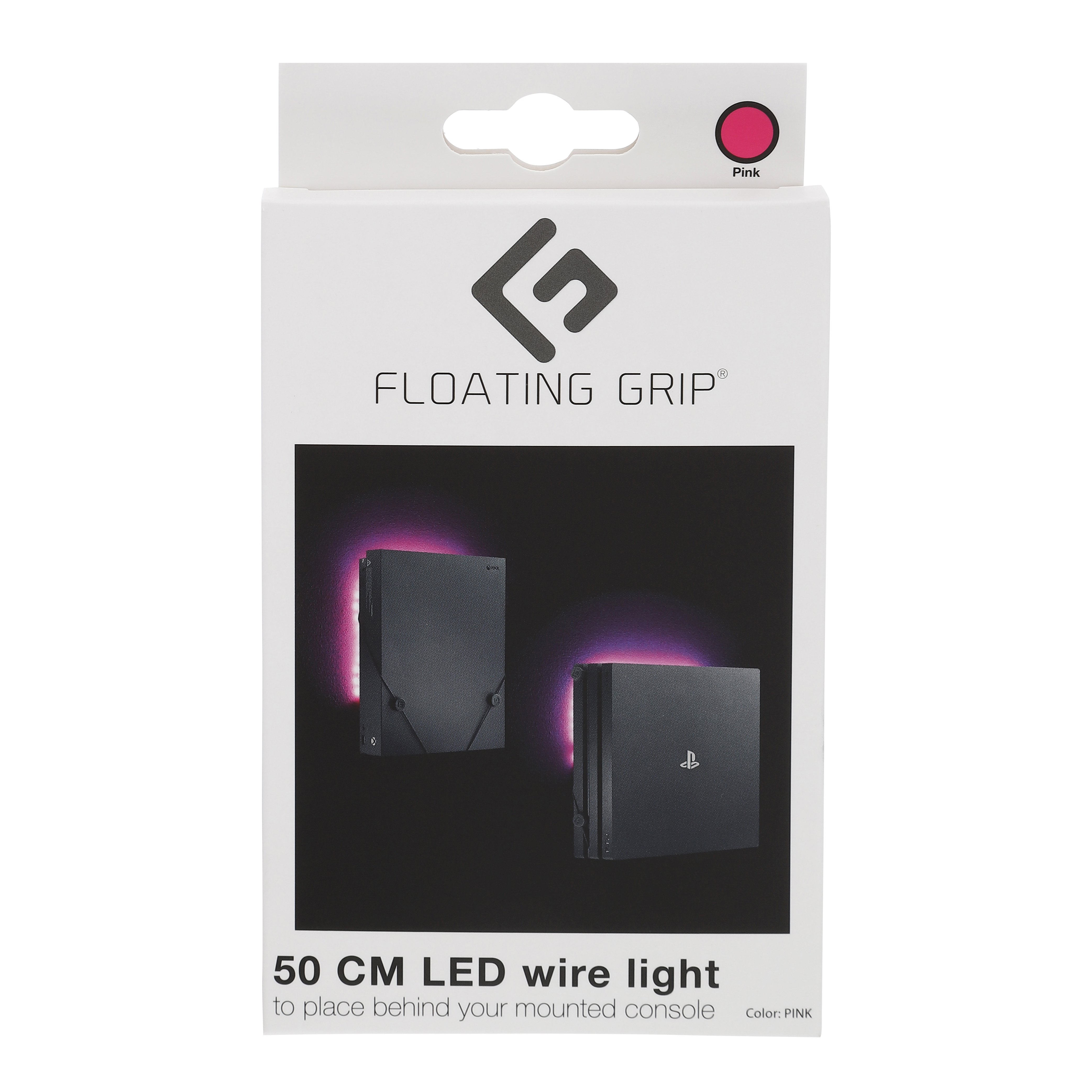 Pink LED wire light - Add on to your FLOATING GRIP®-mount
