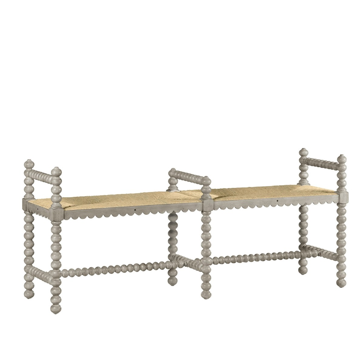 William Yeoward | Bellingham Double Bench Country White