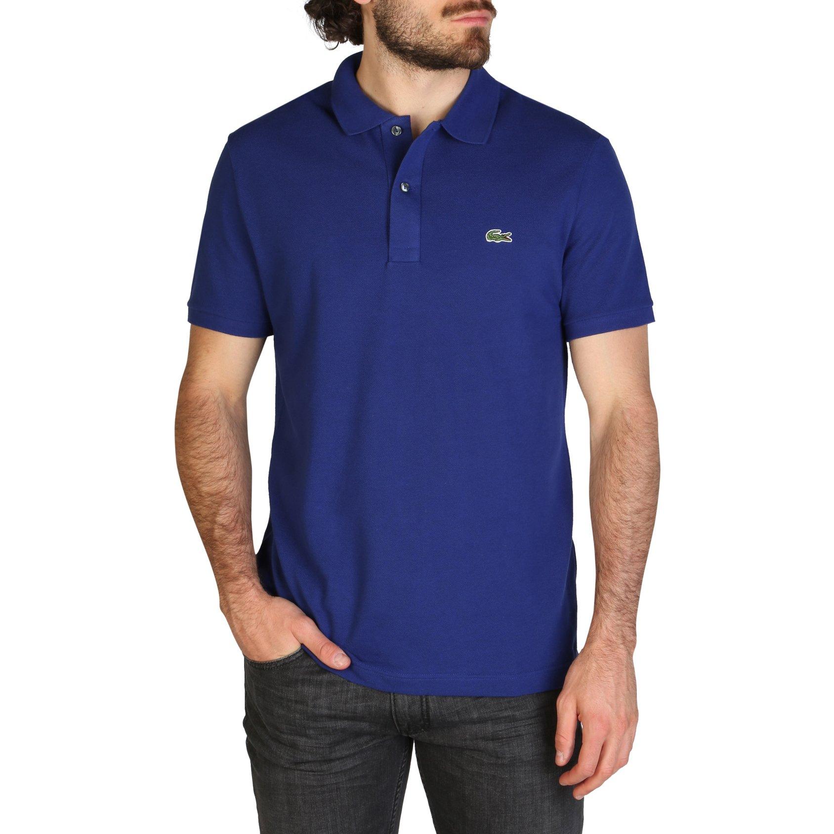 Lacoste Men's Polo Shirt Various Colours PH4012_SLIM - blue-1 S