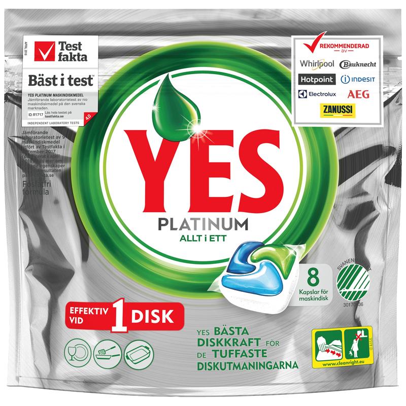 Yes Platinum Maskindisk - 33% rabatt