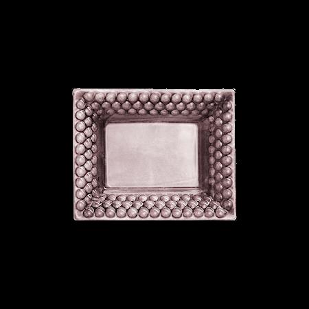 Bubbles Liten Bricka Plommon 16x20 cm