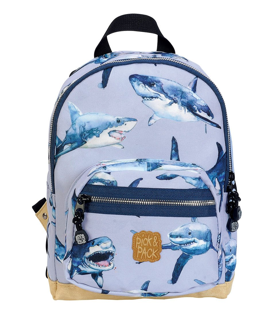 Pick & Pack - Small Backpack 7 L - Shark Light Blue (063107)