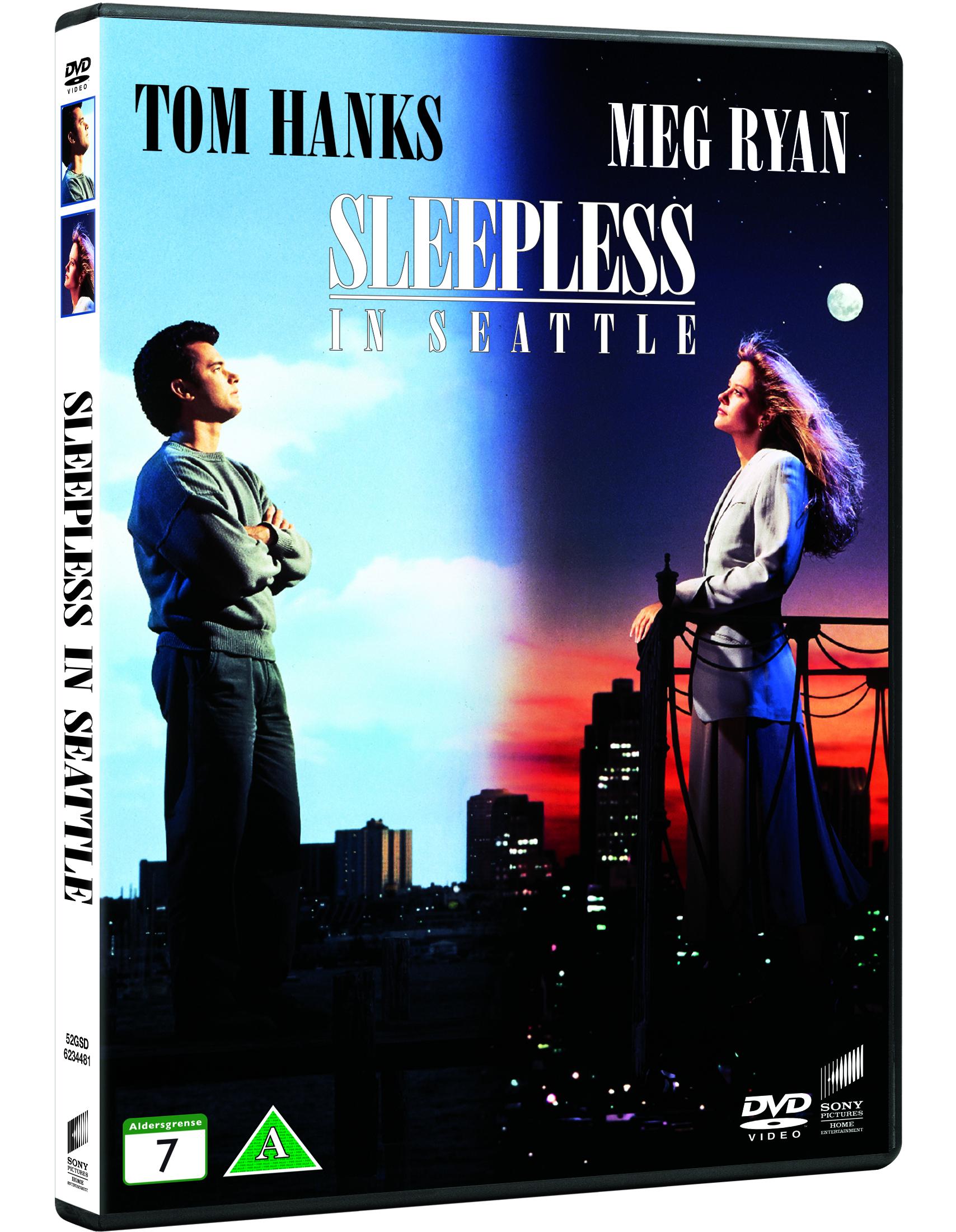 Sleepless in Seattle/Søvnløs i Seattle - DVD