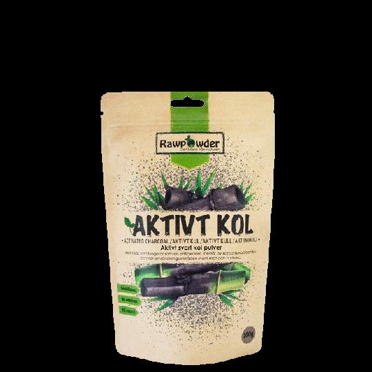 Aktivt Kol Pulver, 100 g